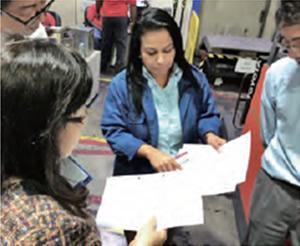 CSR procurement audit at a business partners