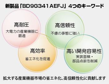 新製品「BD9G341AEFJ」4つのキーワード