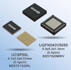 BD57015GWL和BD57020MWV的封装