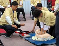 Regular life-saving workshops