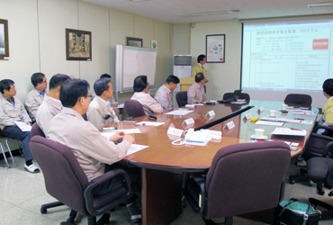 Scene from a General Internal Safety and Health Auditsmeeting