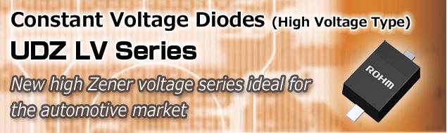 Constant Voltage Diodes (High Voltage Type) UDZ LV Series
