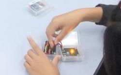 ローム製のLEDを使用した実験キット