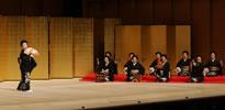 京舞井上流 五世家元の井上八千代様による祝舞