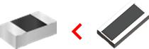 図 - 長辺電極タイプ使用→放熱性UP