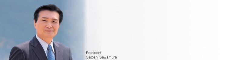 Satoshi Sawamura President ROHM Co.,Ltd.