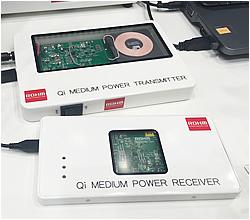 写真 - ワイヤレス給電送受信用制御IC